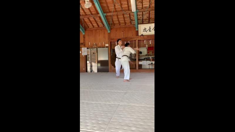 Yokomenuchi iriminage kihon