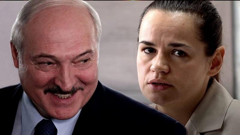 КАРТОФЕЛЬНЫЙ ТАРАКАН Лукашенко сожрал Светлану ТИХАНОВСКУЮ