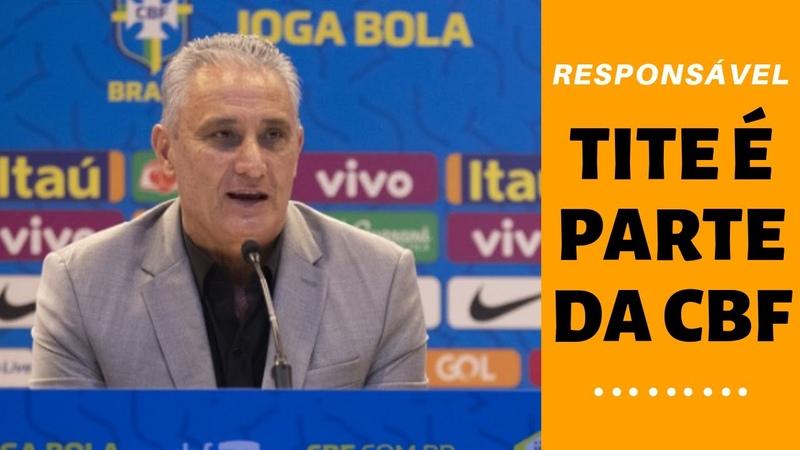 Parece piada, mas o emprego de Tite na CBF vale mais, tem prioridade diante do Campeonato Brasileiro