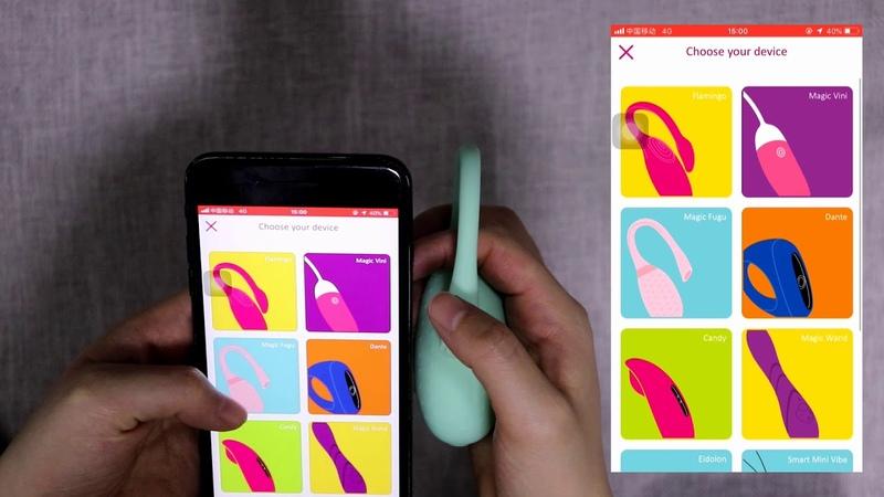 Magic Fugu from Magic Motion APP control wearable vibe remote control