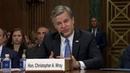 FBI's Christopher Wray testifies to Senate Judiciary Committee watch live