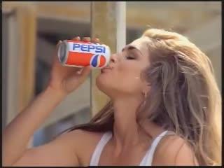 Реклама Пепси Синди Кроуфорд / Pepsi Cindy Crawford. 1992 год. VHS