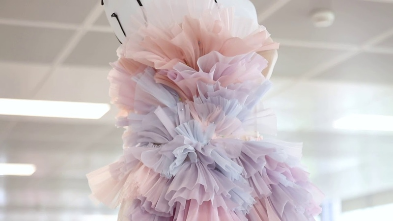 Ralph Russo Autumn Winter 2019 2020 Couture Look 20 The Making Of