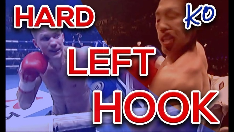 The Hard Left Hook | Knockouts by Artur Kyshenko