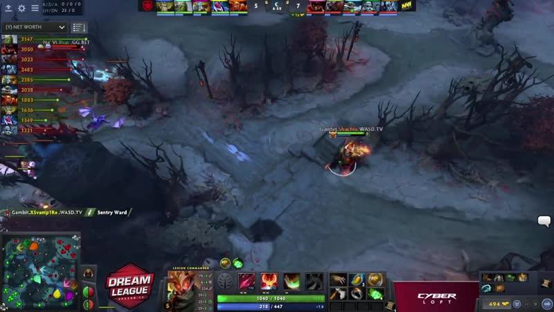 Natus Vincere vs Gambit, DreamLeague S13 QL, bo3, game 3 [CrystalMay Smile]