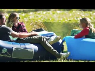 AlphaBeing Inflatable Lounger   Best Air Lounger for Travelling, Camping, Hiking   Ideal Inflatable