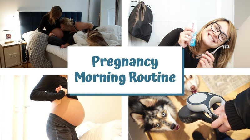 My Realistic Pregnancy Morning Routine 3rd Trimester