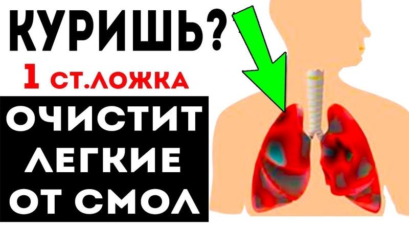 КУРИШЬ Это Выгонит Все СМОЛЫ из ЛЕГКИХ Как очистить легкие и бросить курить