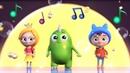 O sol e a lua Canções infantis de Sina e Lo Desenhos animados para crianças