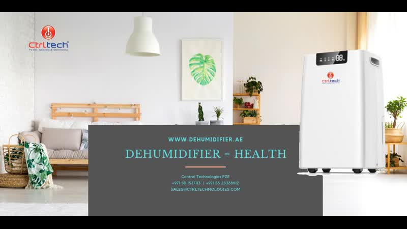 Portable dehumidifier to reduce humidity at home and office to protect health