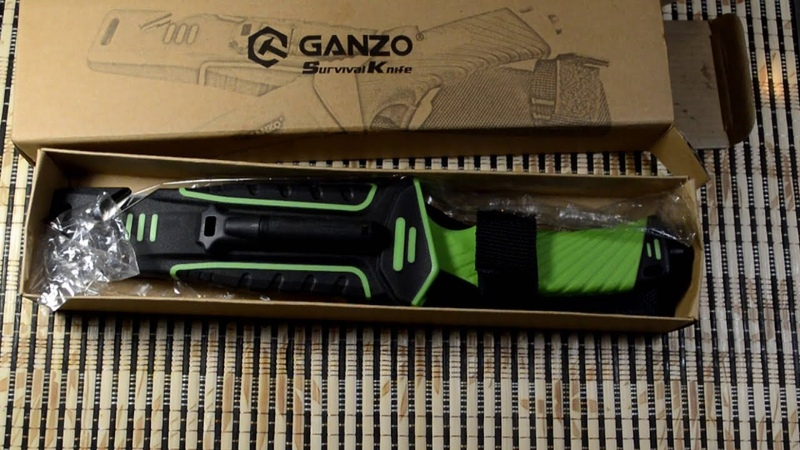 Ganzo G801-LG Нож для Бушкрафта, survival knife