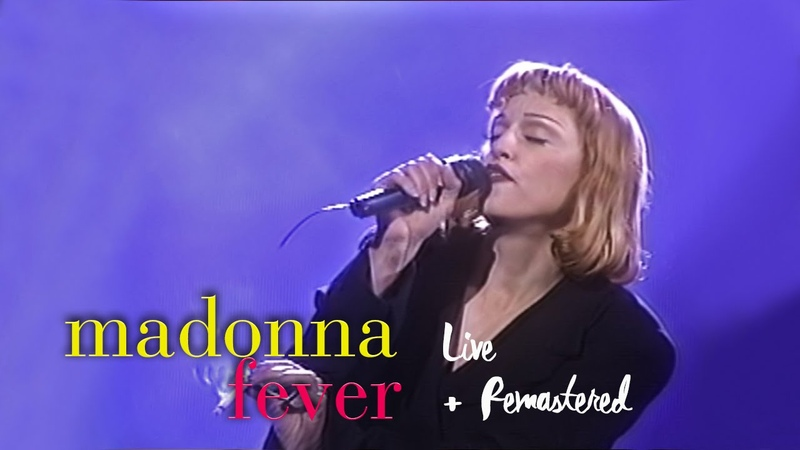 Madonna Fever Live at Arsenio Hall 1000th Ep May 13 1993