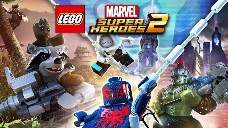 LEGO Marvel Super Heroes 2 1 Серия Я есть Грут