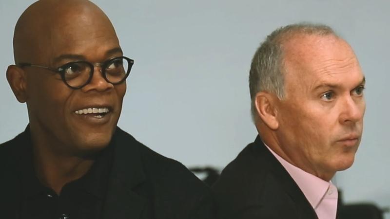 Actors on Actors Samuel L Jackson and Michael Keaton Full Video