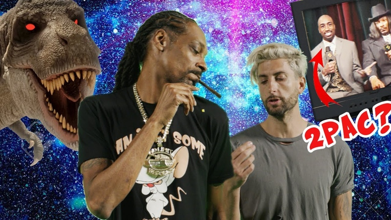 Snoop Dogg, Tupac and a T-Rex, WHAT! Making the I C Your Bullsh*t Official Music Video