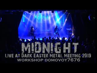 MIDNIGHT - Live at Dark Easter Metal Meeting 2019