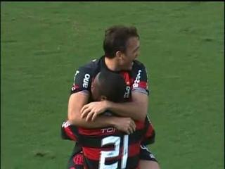 Gol Olímpico de Petkovic contra o Palmeiras!!!! 18/10/09