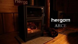 Fireplace*Wood-burning stove*hergom ARCE Vol.3 short ver. (5min) from Fukuka, JAPAN