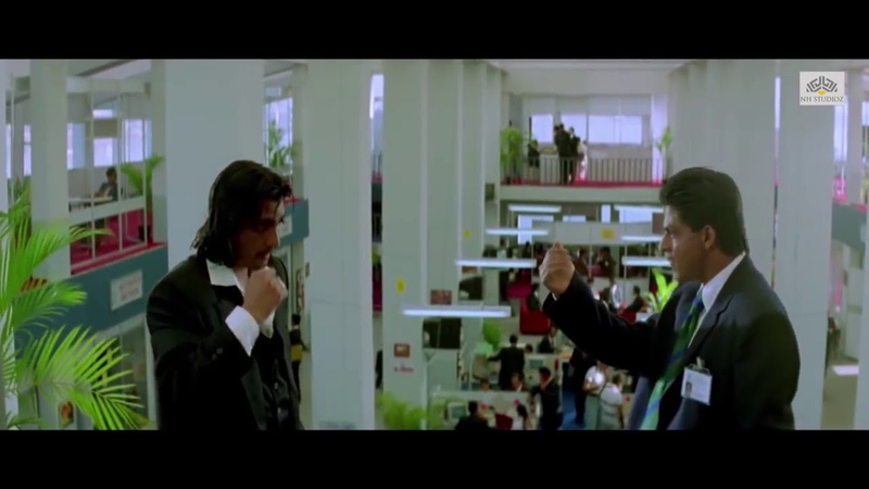 Shahrukh Khan Gets Angry from One 2 Ka 4 Movie Scene