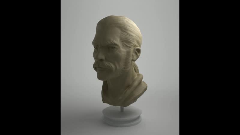 Male Portrait Blender 2.8