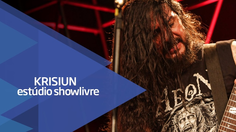 Slaying steel Krisiun no Estúdio Showlivre 2015