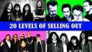 20 levels of Metallica SELLING OUT