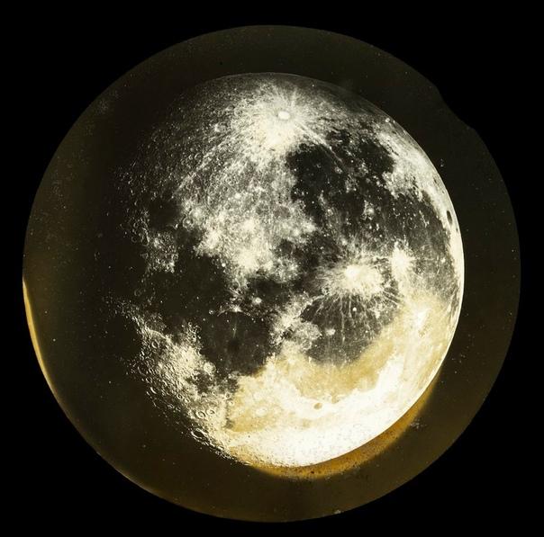 фото луны через телескоп если