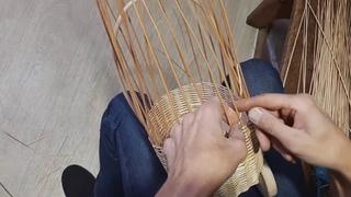 Плетение коляски BONIA часть 4