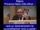 Philippe Vardon contre le renforcement de la coopération entre la Région PACA et le Qatar