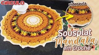 Sousplat Mandala em Crochê   Carla Cristina & Crochet HD
