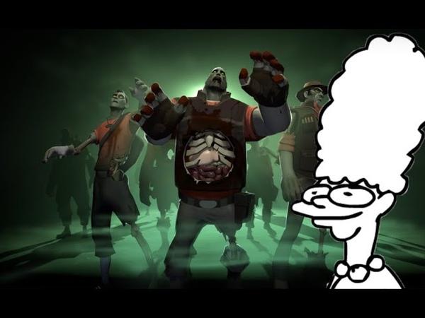 Пародия голоса Марджа в игре Team Fortress 2