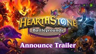 Hearthstone Battlegrounds Announce Trailer