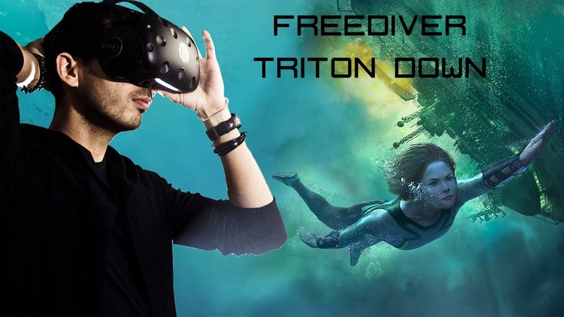 Freediver Triton Down VR Полное прохождение на русском
