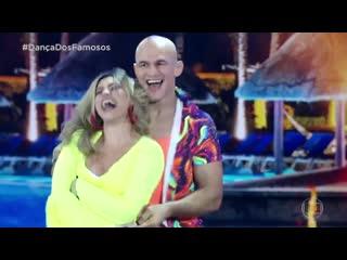 Джуниор дос Сантос - Пятый танец в телешоу Танцы со звёздами