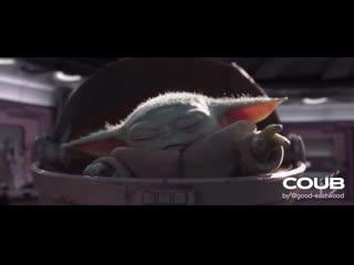 Baby Yoda VS Darth Sidious