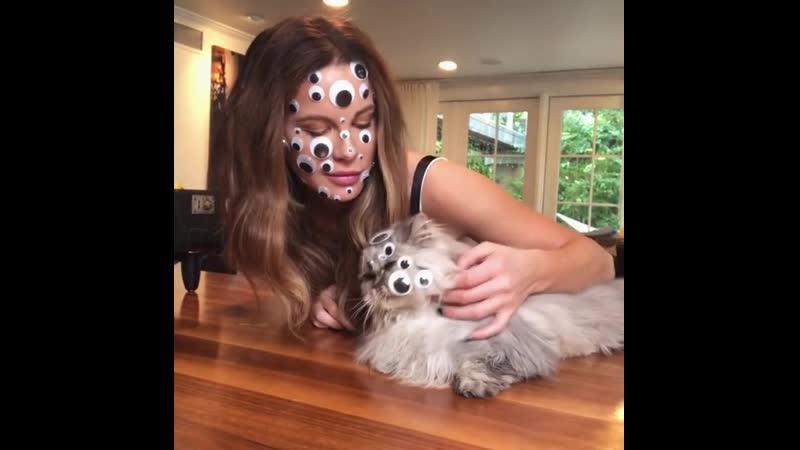 Кейт Бекинсейл и котя