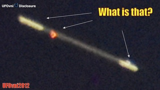 What is that? Two huge UFO lightships next to the planet Venus