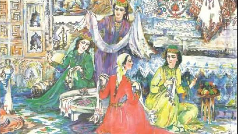 Крымских татарок учили вышивать с 7 лет