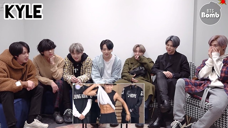 [Озвучка by Kyle] Реакция BTS на дебют 5 дней