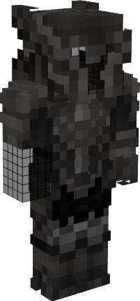 Armor Black Knight Minecraft Skin