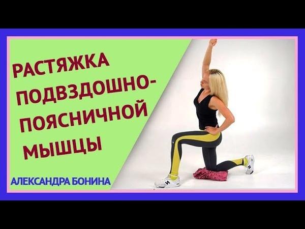 ►РАСТЯЖКА подвздошно поясничной мышцы Кому особенно нужна Как правильно делать растяжку