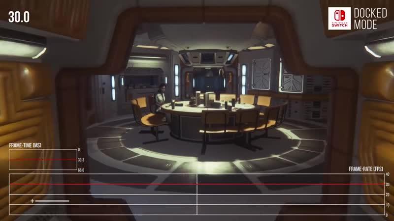 Alien Isolation | Switch vs PS4 сравнение Digital Foundry