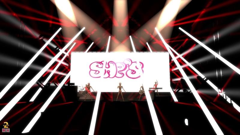 Grandma2 Lightshow Felix Jaehn Hot2Touch MA 3D PreViz