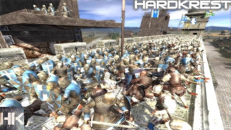 Medieval 2 Total War прохождение Франция Hardcore =21= Бесконтрольное подчинение