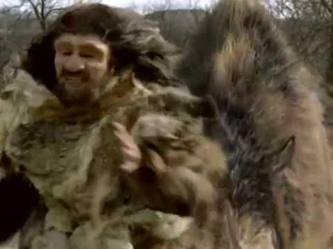 Woolly Rhinoceros vs Neanderthal Шерстистый носорог против Неандертальца RUS