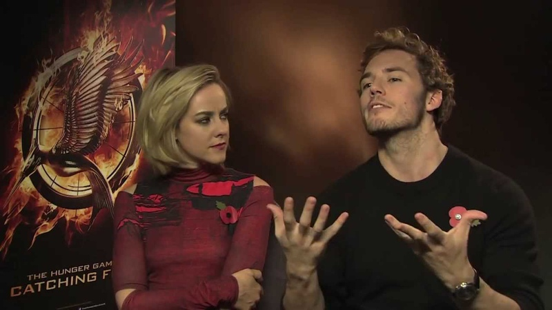The Hunger Games Catching Fire Interviews Sam Claflin Jena Malone And Jeffrey Wright