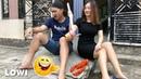 Coi Cấm Cười Hất Đổ Tô Mì Tôm Alaska Của Nhà Nghèo Funny Videos LOWI TV