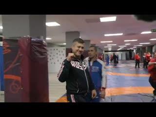 Ко дню рождения главного тренера сборной России по вольной борьбе Дзамболата Тедеева.