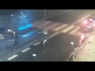 Total piece of shit hits a teenage girl crossing the road and checks his car for damage first   перевод общая кусок дерьма удар