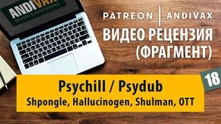 Видео рецензия на трек №18 - Psychill / Psydub (Shpongle, Hallucinogen, Shulman)